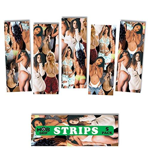 mob Skateboard Griptape Van Styles V/Sual Mädchen Grip Strips 5Stück 22,9x 8,3cm