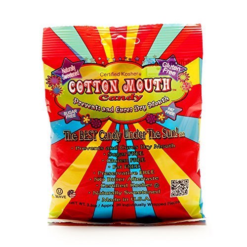Cotton Mouth Candy Fruit mix bag 3.3 ounce (97 ml) (3er-pack) 3,3 ounce (3er-pack)