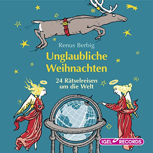 Unglaubliche Weihnachten audiobook cover art