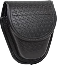 TTGTACTICAL Molded Double Basketweave Handcuff Pouch Hidden Snap Cuff Case