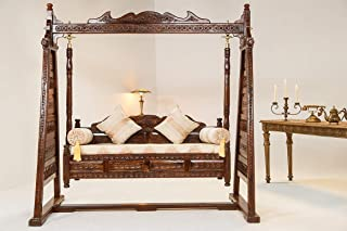 wooden jhula for living room