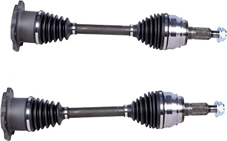 Bodeman - Pair 2 Complete Front CV Axle Half-Shaft Set for 6 LUG Models Only - for 2007 2008 2009 2010 2011 2012 2013 2014 2015-18 Chevy Silverado 1500/ GMC Sierra 1500/ Tahoe/Yukon/Escalade: image