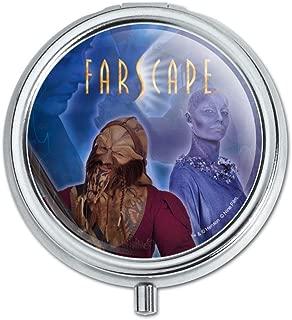 Farscape Crew Zhaan and Ka D'Argo Aliens Pill Case Trinket Gift Box