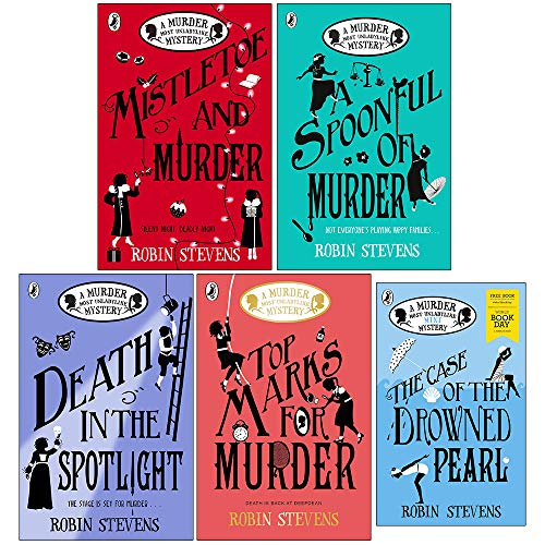 Murder Most Unladylike Mystery Series Book 5,6,7,8 & World Book Day Collection 5 Books Set (Mistletoe and Murder, A Spoonful of Murder, Death in the Spotlight, Top Marks For Murder)