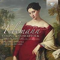 Telemann: Complete Concertos & Trio Sonatas [Box Set] by Cristiano Contadin