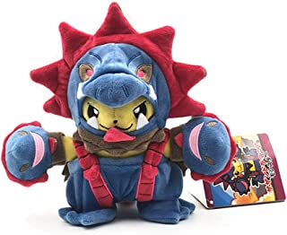 Bellagione Pikachu Plush Doll with Poncho of Maniac Tyranitar Hydreigon Charizard 7