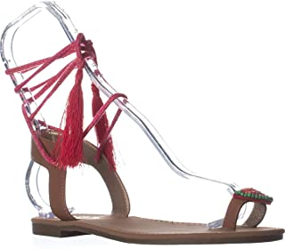 Womens Binx 5 Leather Tie-Up Flat Sandals