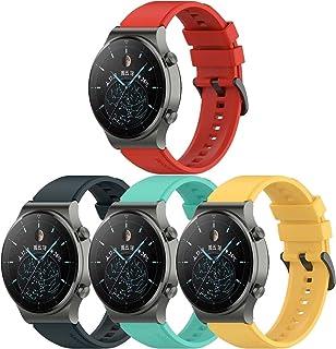Gransho compatibel met Polar Vantage M Watch Strap, Premium Soft Silicone Watch Band Replacement Wristbands