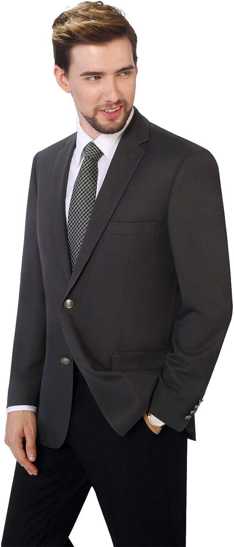 Mens Suit Blazer Jacket Two Button Stretch Sports Coats