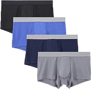 Men's Ultra Soft Underwear Trunks for Men 4 Pack