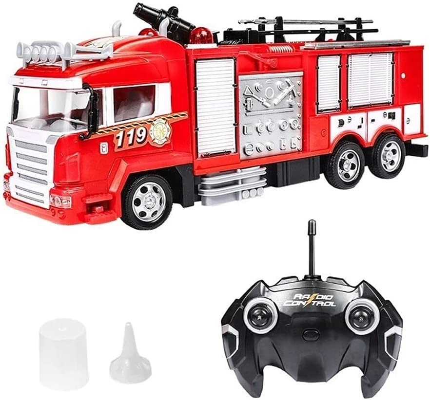 WANIYA1 Remote Some reservation Charlotte Mall Control Fire Truck Simulation Tr Electric RC