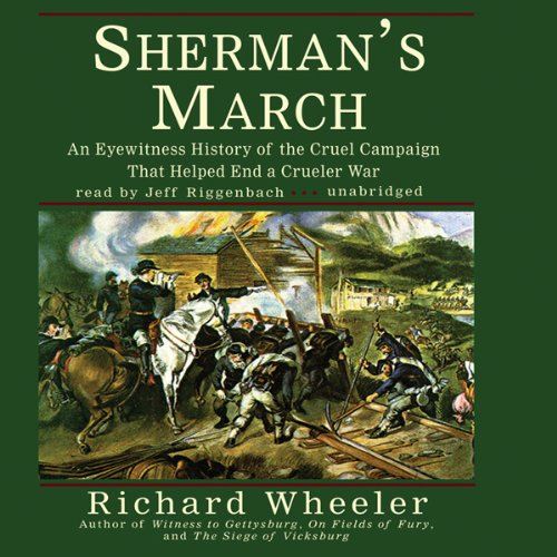 Sherman's March audiobook cover art