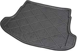 ZYHW Black Rear Trunk Tray Auto Cargo Liner Boot Rear Trunk Mat Floor Mat Cover Protector for 2007-2011 Honda CRV