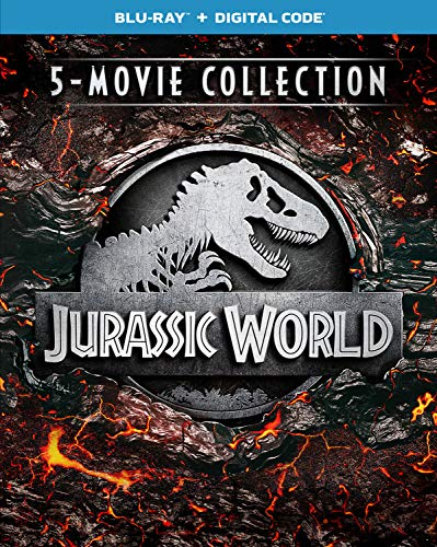 Jurassic World 5-Movie Collection,4K Ultra HD + Digital, Blu-ray