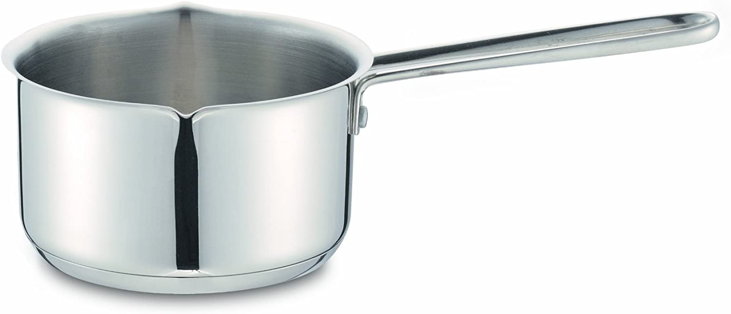 Cuisinox POT-127 Spouted Milk Pan, 0.75-Liter