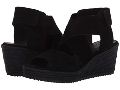 Eileen Fisher Willow 3 (Black Suede) Women