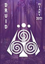 Druid Diary 2021: Weekly Planner (2 pages per week) with Observances/Celebrations for Student/Teacher/Home/Business - Purp...