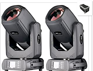 JTL 2Pcs/lot With Flight Case DMX512 Channel 7R Sharpy Beam 260W Moving Head Light for Disco KTV Club Party