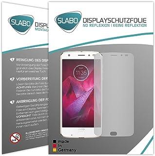 Slabo 4 x skärmskyddsfolie för Motorola Moto Z2 Force displayfolie skyddsfolie tillbehör No Reflexion MATT