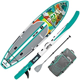 BOTE Flood Aero Inflatable Stand Up Paddle Board, SUP with Accessories | Pump, Paddle, Fin, Travel Bag