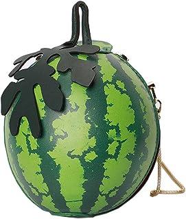 MILATA Watermelon Shaped Women's Crossbody Bag Shoulder Bag Clutch Mini Purse Novelty Bag