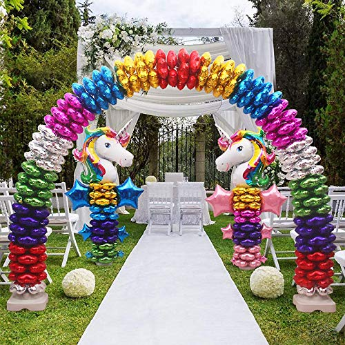 Efavormart Balloon Arch Stand Kit For Wedding Event Party Home Decoration - 19ft Adjustable