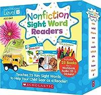 スカラスティック Nonfiction Sight Word Readers レベル B 英語教材 25冊セット CD付
