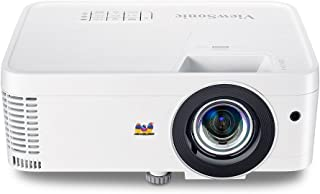ViewSonic 1080p Short Throw Projector with 3000 Lumens 22, 000: 1 DLP 3D Dual HDMI USB C and Low Input Lag for Home Theater and Gaming (PX706HD)