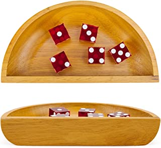 Brybelly Wooden Craps Dice Boat