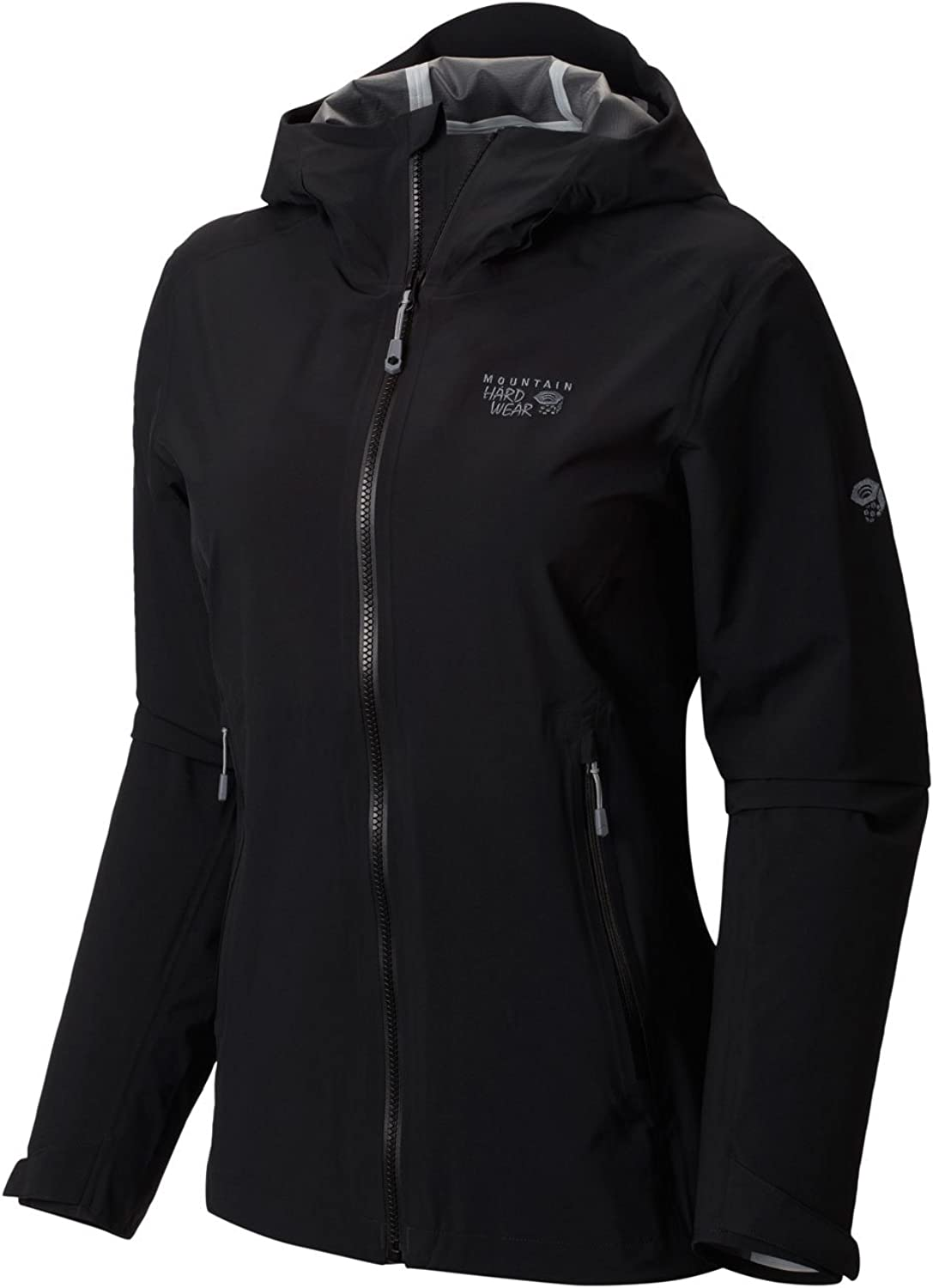 Mountain Hardwear Stretch Ozonic Jacket  Women's Black XLarge