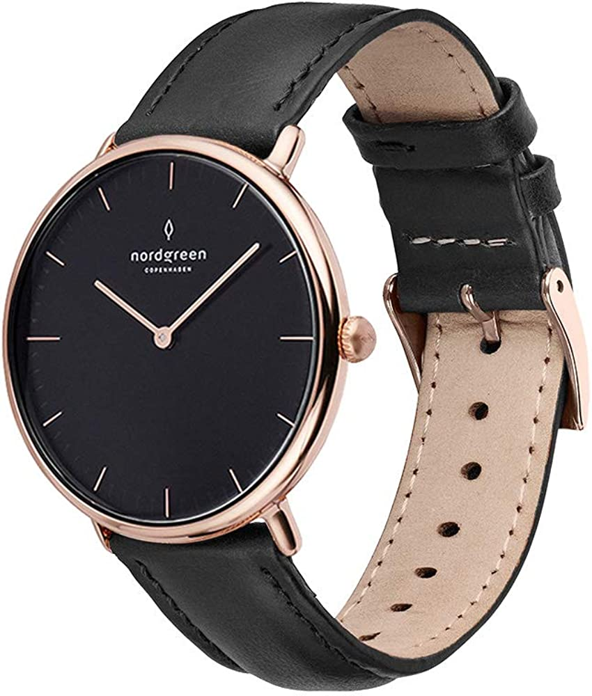 Nordgreen Native Scandinavian Rose Gold Watch with Quartz Analog Special 2021 spring and summer new sale item