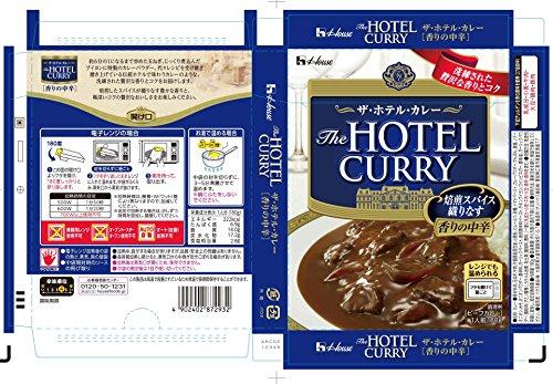 ハウスザ・ホテル・カレー香りの中辛180g
