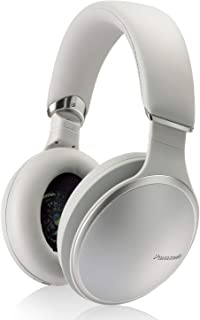 Panasonic Noise Cancelling Over The Ear Headphones with Wireless Bluetooth, Alexa Voice Control & Other Assistants – Silver (RP-HD805N-S)