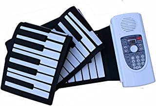 Professional Smart Keyboard Home Digital Keyboard Hand Roll Piano 88 Key Midi Piano Portable Piano (Color : 88 key)