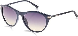 Calvin Klein Cateye Essentials Navy Sunglasses For Women, Multi Color 55 mm
