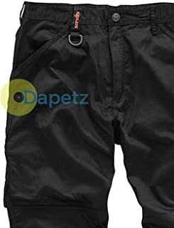 "Hi-Vis Pantaloni di Classe 1-XL 91cm poliestere con rivestimento in PU Qualità 36/"""