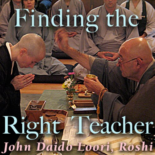Finding the Right Teacher audiobook cover art