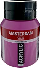 Royal Talens Amsterdam Standard Series Acrylic Color, 500ml Tube, Permanent Red Violet Light (17095772)