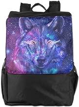 Flying XIE Travel Backpack Light Night Wolf Outdoor Sport Daypack School Bag Laptop Bag Large Capacity