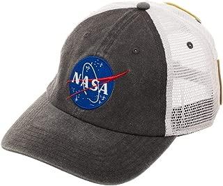 NASA Adjustable Snapback Cap Trucker Hat