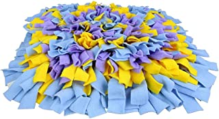 Pet Dog Snuffle Mat Funny Foldable Blanket Puppy Cat Interactive Puzzle Toys,40x40cm