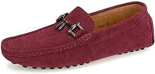 [Z.L.F] ドライビングシューズ 男性用 ビジネス シューズ レザー 通気 快適 カジュアル 紳士靴