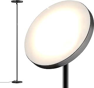 dodocool 30W LED lampara de pie, 2800K-7000K, Hasta 2800 Lúmenes, Temperatura de 4 colores ajustable, lampara de pie con sincronización y ángulo ajustable