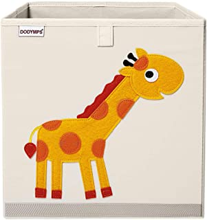 DODYMPS Foldable Animal Toy Storage Bins/Cube/Box/Chest/Organizer for Kids & Nursery, 13 inch (Giraffe)