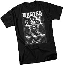 Bellatrix Lestrange Wanted Poster - Harry Potter Adult T-Shirt