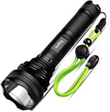 XIAONINGMENG-A Flashlight, High Lumen Long Distance LED Flashlight Charging Outdoor Exploring Camping Riding Equipment Lan...