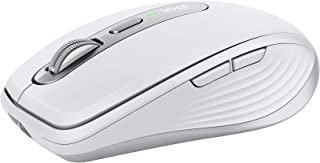 Logitech MX Anywhere 3 för Mac kompakt mus för prestanda, trådlös, bekväm, ultrasnabb rullning, alla underlag, bärbar, 4 0...