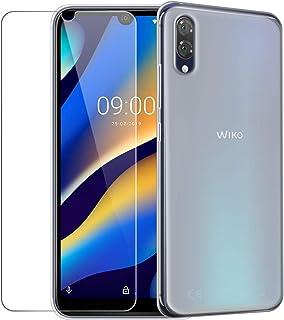 """HYMY fodral + skärmskydd för Wiko View3 Lite (6.09"""") - Translucent Cute Fashion Clear TPU Mjuk Silikon Protection Gel Fash..."""