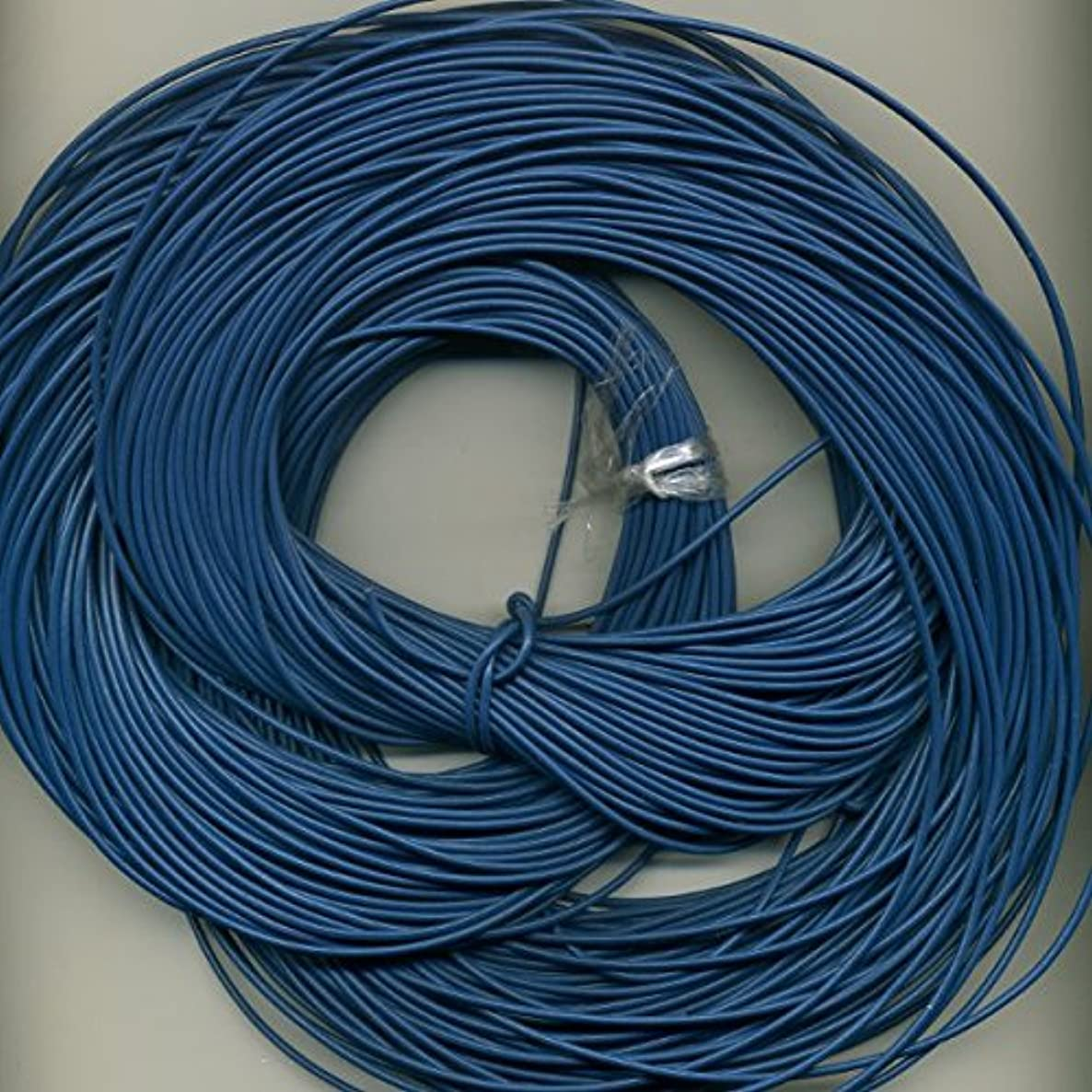 2 mm Royal Blue, Greek Leather Cord, 10 Meter Roll (10.94 Yards)