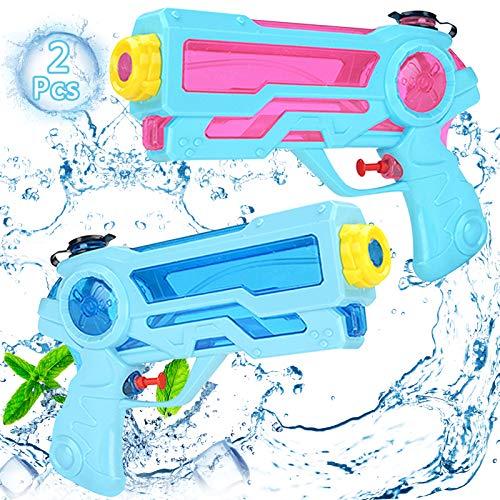 Pistola de Agua pequeña,Pistola de Agua Juguete,Pistola de Agua niños Adultos,Pistola de Agua de Verano para Playa,Pistola de Agua,Water Gun,Blaster Shooter,Super Pistola (A)